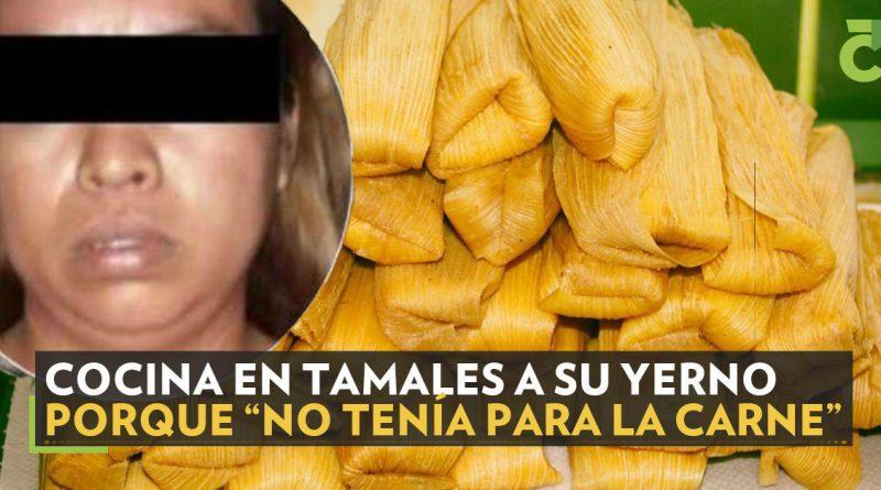 Acusan que mujer cocina en tamales a su yerno; pero… es FAKE NEWS! (Como casi todo).